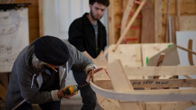 Boat building workshops available
