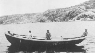 example of a traditional wooden boat in newfoundland